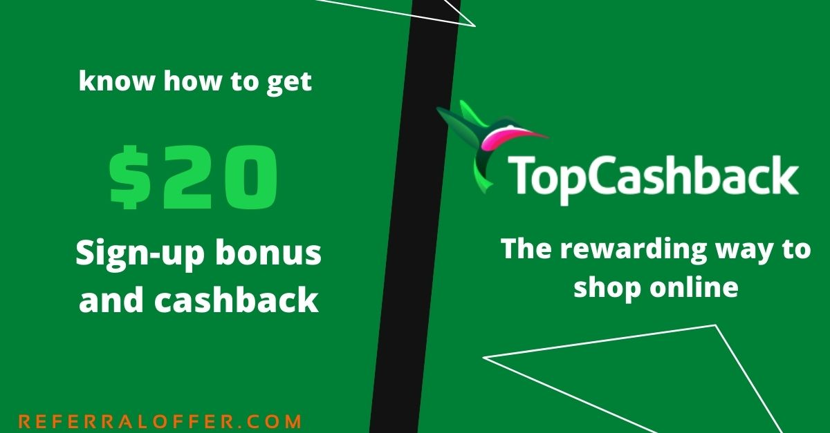 TopCashback review & offer